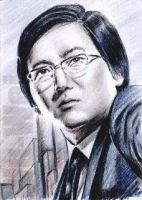 Masi Oka mini-portrait by whu-wei
