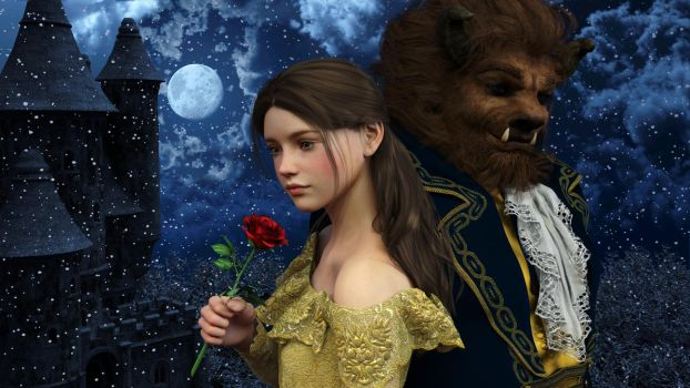 Disney Fairytales: Beauty And The Beast 003 by SirTancrede