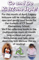 Book Drive Flyer by laurichg