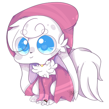 Lil Pink Cap 'n Cape by SunstarXD