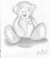 Tatty Teddy _James Bear_ by Only-enemy