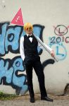 Shizuo Heiwajima 2 - Cosplay by FlyingRondelsCosplay