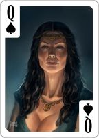 Queen of Spades by d-torres