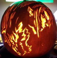 Twilight Princess Pumpkin 2 by TheNaturalLink