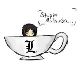 L in a Cup by Mephypoo