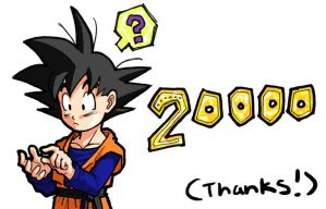 DBZ: 20000 Hits by Risachantag