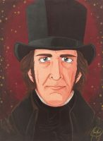 Geoffrey Rush/Inspector Javert Les Miserables '98 by HavocGirl
