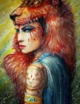 Princess Mononoke by PixieCold