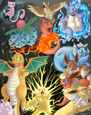 Pokemon Yellow Version by autumnalone