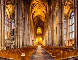 Inside Canterbury Cathedral 1 by DanielGliese