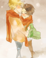 Comission: KimchiBurger 2 by vivalalixi
