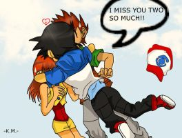 Original Trio-I MISS YOU GUYS by Misty-DawnKetchum011