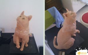 Lio's Urn Sculpting Progress Done by LimitlessEndeavours