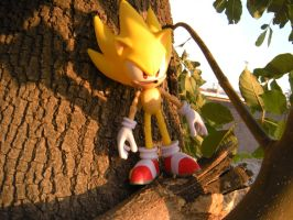 Modern Super Sonic. by PokepictureFigurefun