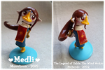 LoZ: WW - Medli sculpture by Moontoon