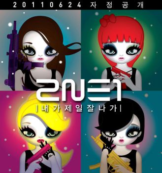 2NE1 teaser pictures by fangora88