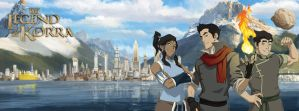 The Legend of Korra Cover Photo for Facebook by Howie62