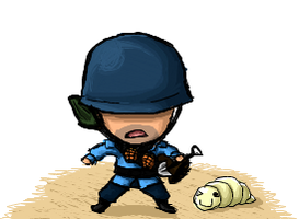 SOLDIER IS TINY BABY MAN by The-Epic-Person