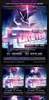 Forever Poster Flyer Template by FlyerDzine