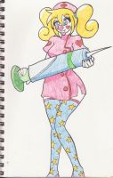 Clown nurse by Kobi94