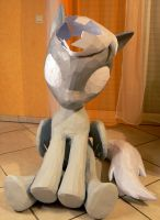 Derpy papercraft - back on folding again by Znegil
