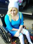 Fiona the Human by Misa-on-Wheels