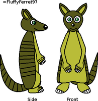 Kevin the armadillo by FluffyFerret97
