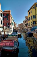 Venice Boats by RENelsonPhotog