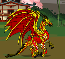 Scarlet Claw by dinohunter9