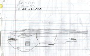Bruno Class Paper Drawing by kaisernathan1701