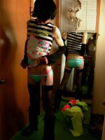 Hello Kitty, Joe Boxers, and Fishnet Stockings 1. by dude-girl