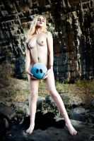 Nude with Happy Ball by joepix