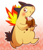 Pokemon: Typhlosion