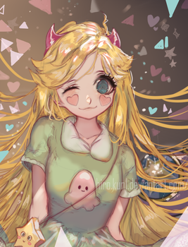 Star Vs. The Forces of Evil [Star Butterfly] by Hiro-Kun1