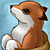 White Pawed fox by Blood-Charm