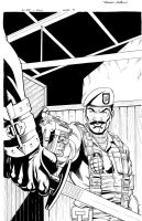 GI JOE 5 Inks by RobertAtkins