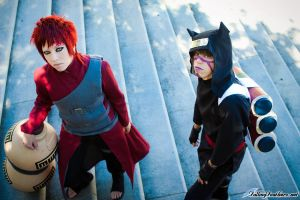 A Brother's Bond - Sabaku no Gaara and Kankuro by nekomatalee