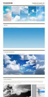 Making of cloudy sky by valery-medved