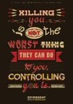 Divergent Quote Typography by arelberg