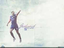 Rio Ferdinand - Wallpaper by cmete