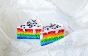 Rainbow cakes by Lovely-Ebru