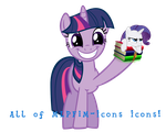 All of MLPFiM-Icon Icons by Togekisspika35