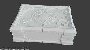 Hearthstone Box - 3D model v1.0 by gaiuscassius