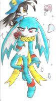 klonoa and king of sorrow by sheezy93