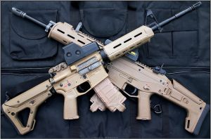 Magpul twins by Drake-UK