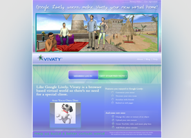 vivaty lively web  redesign by d-gREg