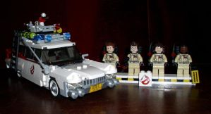 LEGO - Ghostbusters by CyberDrone