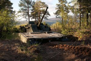 CV90 dug in by Killswitch88