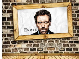 Dr. House by juventino11