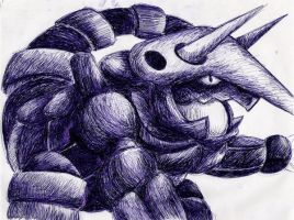 Aggron by TheSonoftheDarkness